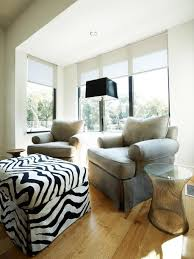 Cozy Living Room Ideas by Furniture Rectangle Zebra Print Ottoman Decorative Zebra