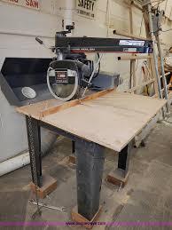 Craftsman Radial Arm Saw Table Craftsman Industrial 12