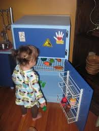 an almost 100 percent completely recycled play kitchen diy play