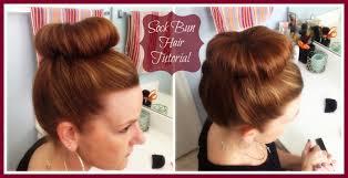 sock hair bun hair tutorial how to do a sock bun pretty extraordinary