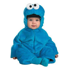 Monster Halloween Costumes Toddlers Deluxe Cookie Monster Halloween Costume Toddler Large