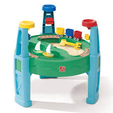 Water Table For Kids Step 2 Shop Step2 Sand And Water Transportation Station At Lowes Com