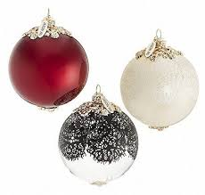 jason wu neiman collectiontarget glass ornament set 3