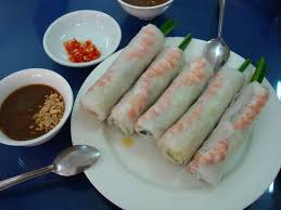 asian cuisine what is the difference between a spring roll and