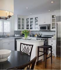 small space kitchen island ideas bhg com throughout slim