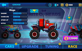 monster truck nitro 2 nitro heads multiplayers race android apps on google play