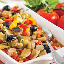 cuisine sicilienne recette caponata à la sicilienne recettes cuisine et nutrition pratico