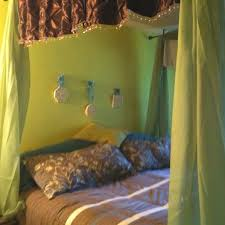 Faux Canopy Bed Drape Best 25 Homemade Canopy Ideas On Pinterest Bed Canopy Lights