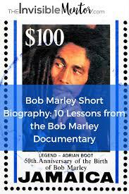 bob marley history biography bob marley short biography 10 lessons from documentary