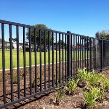 black metal fence iron fence black steel fencing kerites