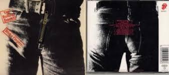 sticky photo album rolling stones sticky fingers zipper slv uk cd album cdlp 9376