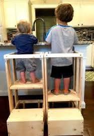 kitchen helper step stool plans toddler tower for toddler toddler