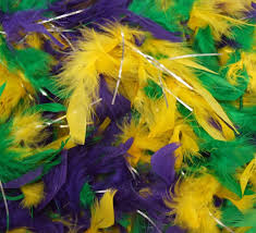 mardi gras feather boas mardi gras colors feather boa masquerade