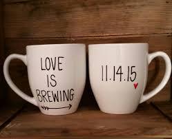 his mugs his and hers mugs is brewing mug set wedding mugs mr