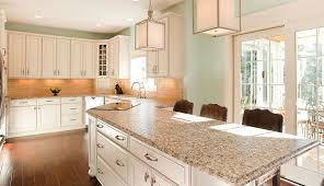 Standard Sizes Of Kitchen Cabinets by Granite Countertop 55 Cream Kitchen Cabinets With Black Granite