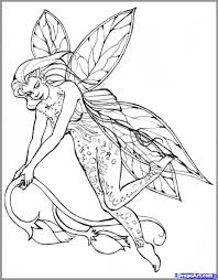 how to draw realistic fairies draw a realistic fairy step 8