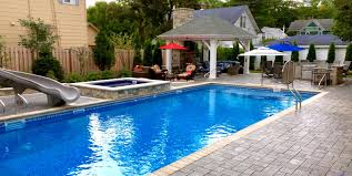 backyard designs with pool and outdoor kitchen pools u0026 spa tubs u2013 cms landscapes