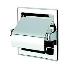 shop nameeks standard hotel chrome recessed toilet paper holder