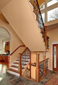 Banister For Stairs Stair Railing Material Options Design Build Pros