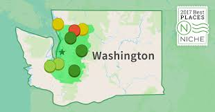 Washington Area Code Map by 2017 Best Seattle Area Suburbs To Live Niche