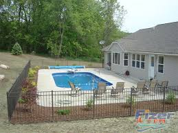 Backyard Inground Swimming Pools Fizer Pools Grand Rapids Swimming Pool Construction Contractor