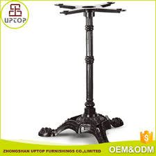 crank table base for sale china online sale cost effective dining restaurant wrought cast iron