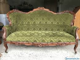 canap style louis philippe divan canape banquette style louis philippe a vendre 2ememain be