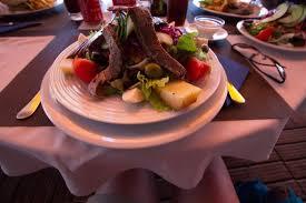 restaurant cuisine nicoise salade nicoise picture of restaurant era calheta tripadvisor