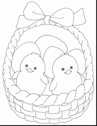 excellent cute easter coloring pages with easter coloring