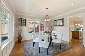 Wainscoting Dining Room Traditional Dining Room With Wainscoting U0026 Crown Molding In