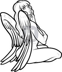 draw angel angel step step darkonator