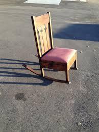 Mission Oak Rocking Chair Www M37auction Com Mission Oak Arts U0026 Crafts Rocking Chair W