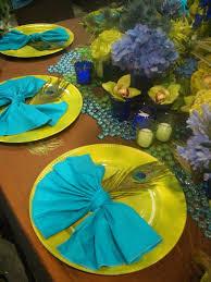 peacock decoration ideas for ganpati pea ready made curtains