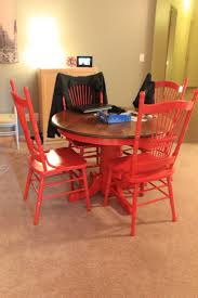 red kitchen table and chairs set kitchen awesome kitchen table redo old kitchen tables red chair