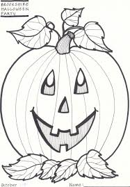 download coloring pages fall and halloween coloring pages