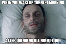 Morning After Meme - morning after imgflip