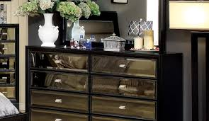 Mirror Credenza Furniture Mirrored Furniture Reflecting The Room In Front Of It
