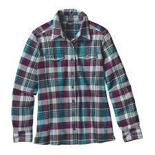 patagonia women u0027s long sleeved fjord flannel shirt