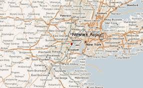 newark map newark international airport location guide
