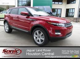 red land rover old 2012 firenze red metallic land rover range rover evoque pure