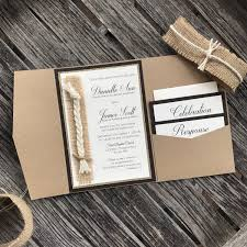 cord of three strands wedding invitation god u0027s knot