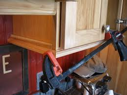 how to wire under cabinet lighting cabinet how to install molding on kitchen cabinets crown kitchen