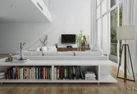 low bookcase interior design ideas