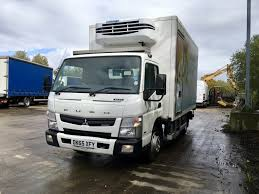 mitsubishi truck canter 7 5 tonne mitsubishi canter refrigerated truck for sale dk65xfy