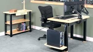 Computer Desk Cord Management Desk Cable Management Compact Computer Desk With Cable Management