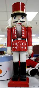 decorating prop hire soldier nutcrackers for