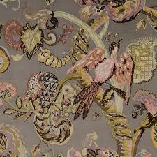 Upholstery Fabric For Curtains Poppinjay Velvet Gunsmoke Prints Ian Sanderson Upholstery And