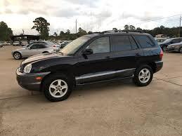 2004 hyundai suv 2004 used hyundai santa fe 4dr gls 2wd automatic 2 7l v6 at car