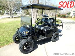Pds Upholstery 2007 Ezgo Pds Custom Lifted Golf Cart