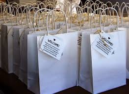 welcome bags for wedding lovely ache wedding welcome bags for out of town guests